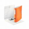 Biblioraft dublu plastifiat 50mm 180° portocaliu metalizat, LEITZ Active