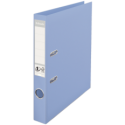 Biblioraft dublu plastifiat 50mm albastru deschis, ESSELTE Standard