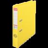 Biblioraft dublu plastifiat 50mm galben, ESSELTE Standard Vivida