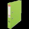 Biblioraft dublu plastifiat 50mm verde, ESSELTE Standard Vivida