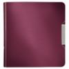 Biblioraft dublu plastifiat 75mm 180° grena, LEITZ Active Style