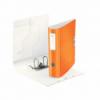 Biblioraft dublu plastifiat 75mm 180° portocaliu metalizat, LEITZ Active