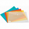 Mapa documente din plastic cu capsa transparenta, NOKI