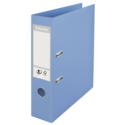 Biblioraft dublu plastifiat 75mm albastru deschis, ESSELTE Standard