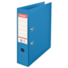 Biblioraft dublu plastifiat 75mm albastru, ESSELTE Standard Vivida