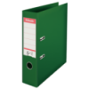 Biblioraft dublu plastifiat 75mm verde, ESSELTE Standard