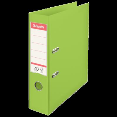 Biblioraft dublu plastifiat 75mm verde, ESSELTE Standard Vivida