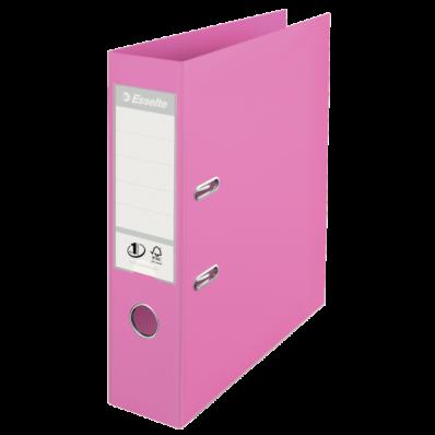 Biblioraft dublu plastifiat 75mm violet, ESSELTE Standard