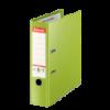 Biblioraft dublu plastifiat 80mm verde, ESSELTE Jumbo Plus Vivida