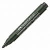 Marker permanent negru varf rotund, FABER-CASTELL Multimark Winner 52