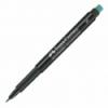 Marker permanent negru varf S, FABER-CASTELL Multimark