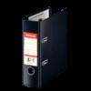 Biblioraft dublu plastifiat A5 75mm negru, ESSELTE Standard Vivida