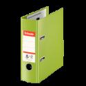 Biblioraft dublu plastifiat A5 75mm verde, ESSELTE Standard Vivida