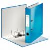 Biblioraft plastifiat 50mm 180° albastru metalizat, LEITZ WoW