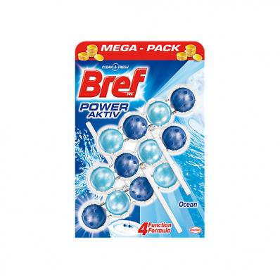 Odorizant de toaleta solid 3x50g, BREF Power Aktiv