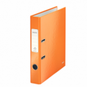Biblioraft plastifiat 50mm 180° portocaliu metalizat, LEITZ WoW