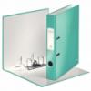 Biblioraft plastifiat 50mm 180° turcoaz metalizat, LEITZ WoW