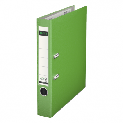 Biblioraft plastifiat 50mm 180° verde deschis, LEITZ
