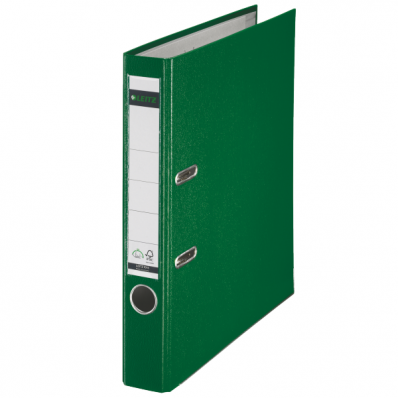 Biblioraft plastifiat 50mm 180° verde, LEITZ
