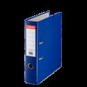 Biblioraft plastifiat 75mm albastru, ESSELTE Economy