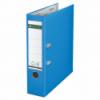 Biblioraft plastifiat 80mm 180° albastru deschis, LEITZ