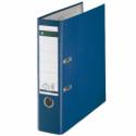 Biblioraft plastifiat 80mm 180° albastru, LEITZ