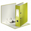 Biblioraft plastifiat 80mm 180° verde metalizat, LEITZ WoW