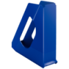 Suport vertical documente plastic albastru, ESSELTE Europost