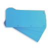 Separator carton 105x240mm albastru 60 buc/set, ELBA Duo
