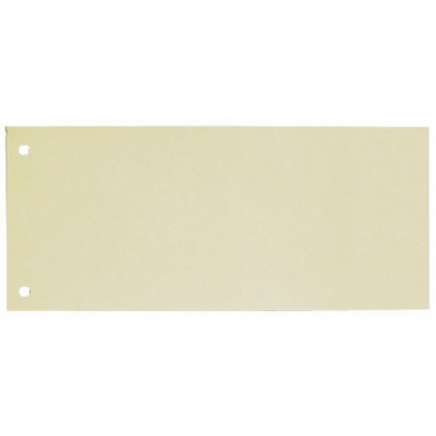 Separator carton 105x240mm galben 100 buc/set, ELBA