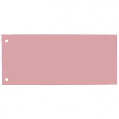 Separator carton 105x240mm rosu 100 buc/set, ELBA