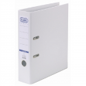 Biblioraft dublu plastifiat 80mm alb, ELBA Smart Pro