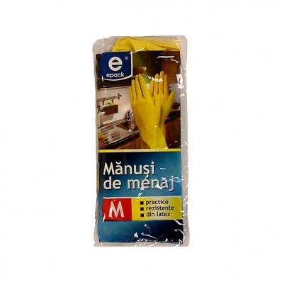 Manusi menaj din latex marimea M 3 buc/set, EPACK