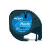 Banda etichetare 12mm x 4m din plastic albastra, DYMO LetraTag