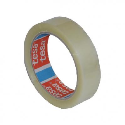 Banda adeziva 25mm x 66m transparenta acril, TESA