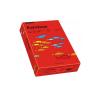 Carton A4 160g/mp 250 coli/top rosu, RAINBOW