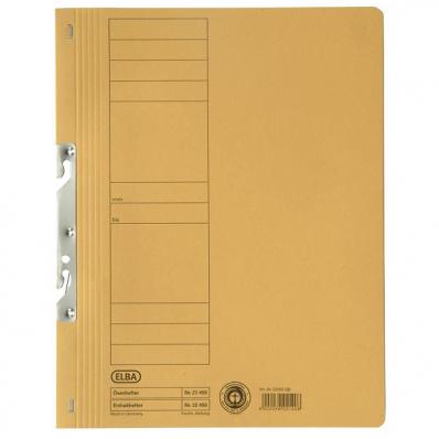 Dosar carton de incopciat 1/1 galben, ELBA