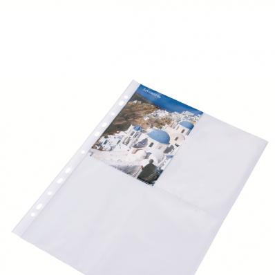 Folie protectie A4 fotografii 60mic cristal 10 buc/set, DONAU