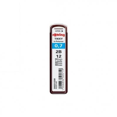 Mina creion 0.7mm 2B 12 buc/set, ROTRING