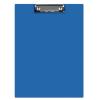 Clipboard dublu A5 PVC albastru, Q-CONNECT