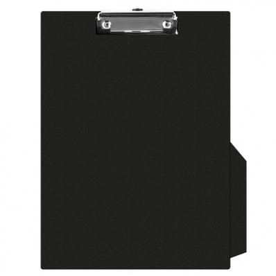 Clipboard simplu PVC negru, Q-CONNECT