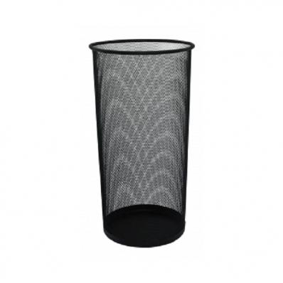 Suport pentru umbrele din plasa metalica negru, Q-CONNECT