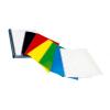 Coperta indosariere carton lucios alba A4 100 buc/top, OPUS