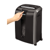 Distrugator documente 12 coli cross cut, FELLOWES 73Ci