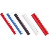 Inel indosariere din plastic 8mm albastru 100 buc/cut, FELLOWES
