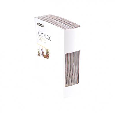 Suport vertical documente plastic alb, FELLOWES G2Desk