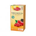 Ceai de fructe de padure 25 pliculete/cut, LIPTON