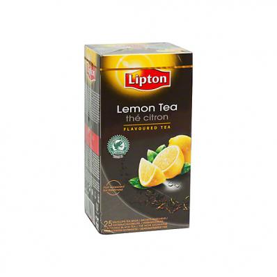 Ceai de lamaie 25 pliculete/cut, LIPTON