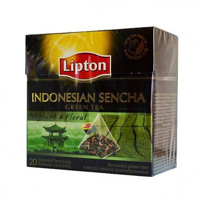 Ceai verde 20 pliculete/cut, LIPTON Piramide