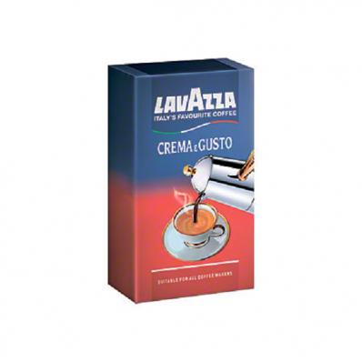 Cafea macinata 250 g/punga, LAVAZZA Crema e Gusto